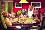 POKER DOGS: A BOLD BLUFF
