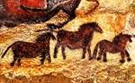 CAVE PAINTING: LASCAUX HORSES