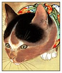 CURIOUS KITTY CAT: VINTAGE CAT ART