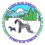 KERRY BLUE TERRIER ART