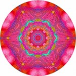 Pink Crystal Mandala
