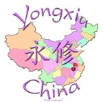 Yongxiu Color Map, China