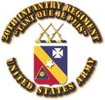 COA - 20th Infantry Regiment