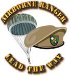 Airborne Ranger - w Beret and Ranger