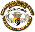 3rd SFG Airborne Bdge w Flash