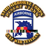 Army - DS - XVIII Airborne Corps - w DS Ribbons