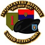 1st Infantry Division - Beret SSI Colors