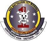 USMC - 3rd Battalion - 1st Marines