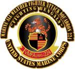 USMC - VMFA(AW) - 224 With Text