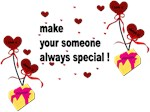 Make your someone special - Hearts