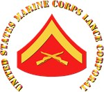 USMC - Lance Corporal with text