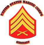 USMC - Sergeant with text