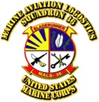 USMC - Marine Aviation Logostics Squadron 36