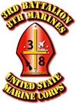 USMC - 3rd Battalion - 8th Marines