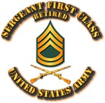 Army - SFC - Retired - Infantry