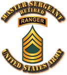 Army - MSG - Ranger - Retired