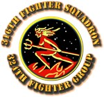 AAC - 316th Fighter Squadron, 324th Fighter Group