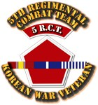 Army - 5th RCT - w Korean Svc