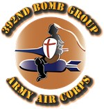 AAC - 392nd Bomb Group, 8th AF
