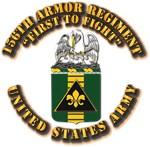 COA - 156th Armor Regiment