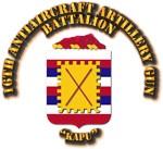 COA - 16th Antiaircraft Artillery Gun Battalion