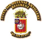 COA - 251st Air Defense Artillery Regiment