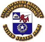 COA - 57th Infantry Regiment