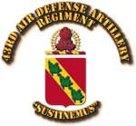 COA - 43rd Air Defense Artillery Regiment