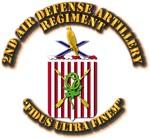 COA - 2nd Air Defense Artillery Regiment