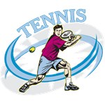 Men's Tennis T-Shirts and Gifts