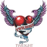 Twilight Heart and Wings T-Shirts and Gifts