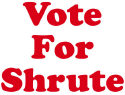 Vote For Shrute