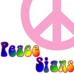 Peace Signs & Hippy Designs