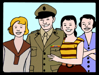 <P>Marine Corps Reserve Families