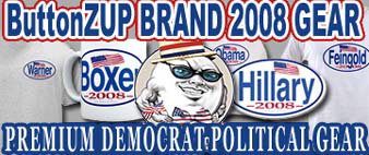 ButtonZUP Branded 2008 Dem Gear