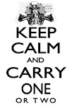 Keep Calm and Carry One Variations