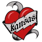 Kansas Red Heart