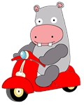 Scooter Hippo