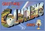 Columbus OH Vintage Postcard