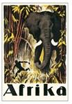 Vintage Afrika Africa Travel