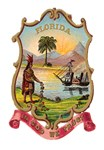 Florida Vintage Coat of Arms