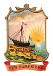 New Hampshire Vintage Coat of Arms