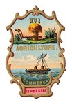 Tennessee Vintage Coat of Arms