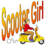 Classic Scooter Girl
