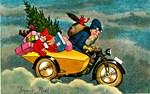 Vintage Santa Claus Christmas Cards