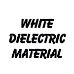 White Dielectric Material