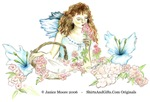 Romantic Flower Fairy:  Fantasy of Fairies