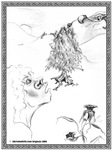 Dragon Hill Fantasy Art Hobbit Picture Gifts