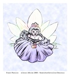 Fairy Child Princess, Enchanting Fantasy Art Gifts