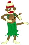 Sock Monkey Ukulele